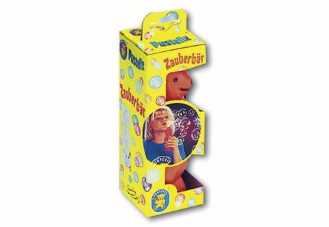Pustefix Bubble Bear No Mess Squeeze Stomach & Blow Bubbles!