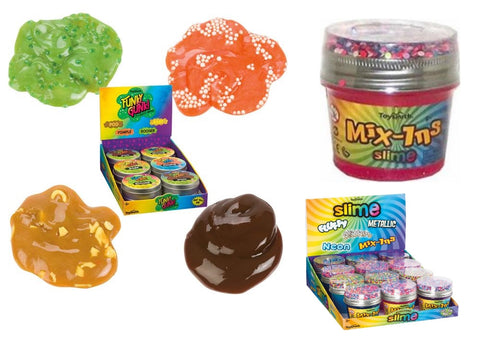 Funky Gunk and Mix-Ins Slime Variety 2-Pack of Fun Gross Slime Ooze