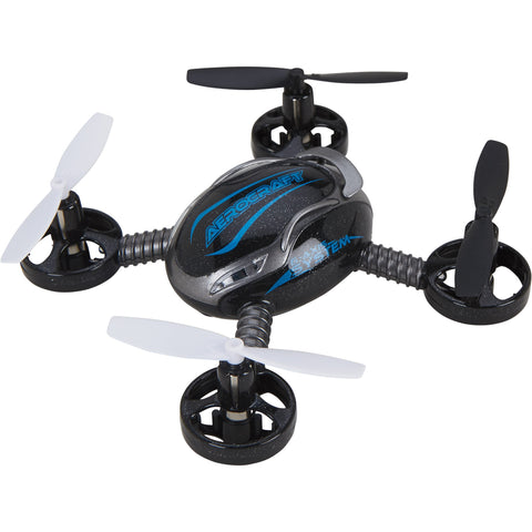 Mini QR-4 Aerocraft Quadrocopter Remote Control RC Drone, Blue