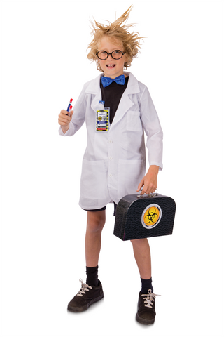 Scientist Dress Up 7-Piece Playset by Heebie Jeebies