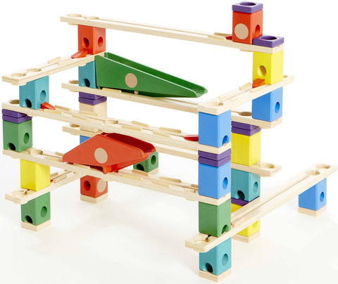 Quadrilla Autobahn Marble Run By Hape