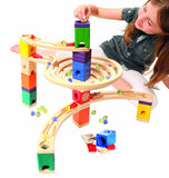 Quadrilla Roundabout Marble Run By Hape
