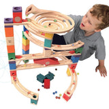 Quadrilla Xcellerator Marble Run By Hape