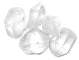 Crystal Quartz Points Mineral Specimens, Rough - Pack of 5