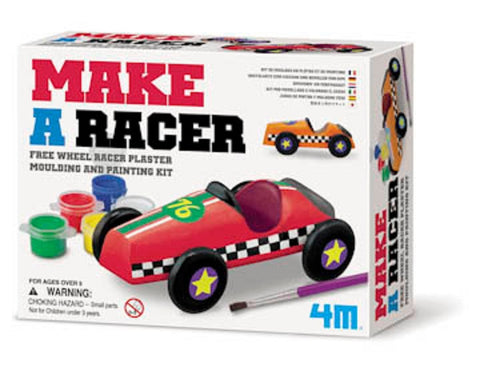 Create Your Own Racer - Plaster Race Car Kit