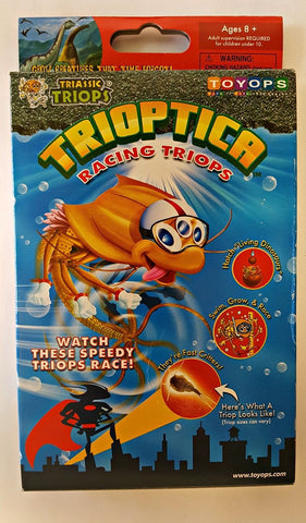 Trioptica Racing Triops Egg Starter or Refill Kit by ToyOps