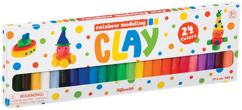 Rainbow Molding Clay /W 24 Colors