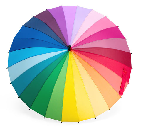 Rainbow Color Wheel Umbrella Online Science Mall