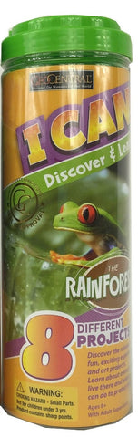 I Can Discover & Learn Kit The RainForest  w 8 Projects