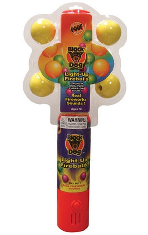 Light Up Fireballs - Handheld Safe Fireworks Display