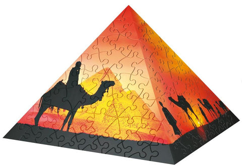 Puzzle Pyramid: Sunset In The Desert:  240 Piece 3D Puzzle