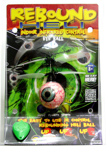 Rebound Helicopter Eyeball Indoor Flying Toy