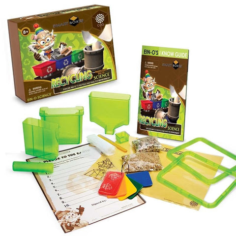 Ein-O Smart Box Kit- RECYCLING SCIENCE- Green Science