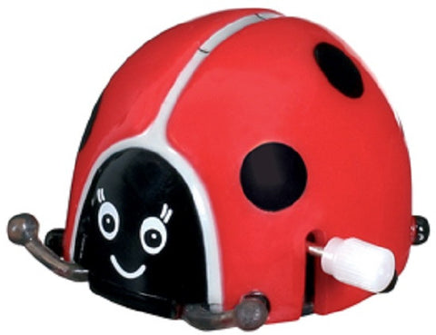 Flip N Spin Wind-up Toy: LADYBUG