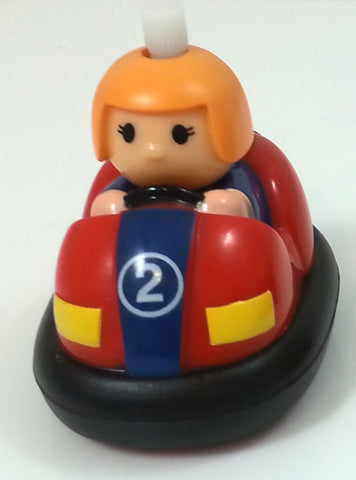 Non-Fall Wind-up Toy Bumper Car - Styles and Colors Vary