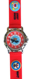 The Kids Watch Company USA Military Branch Watch One Size Red Band