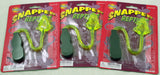Snapper Frogs - Sticky Toy Stretches up  to 8 Feet - Pack of 3