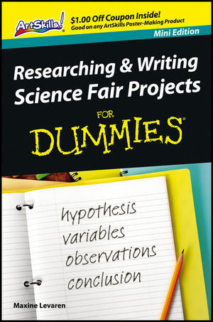 Researching and Writing Science Fair Projects For Dummies - Mini Edition