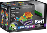 Laser Pegs Light Up Construction Tank Runners 8 Models in 1 Kit