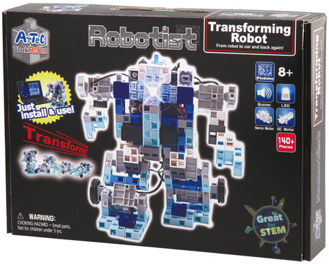 Robotist Transforming Robot Electronic Building Kit By Artec