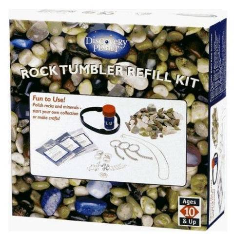 Rock Tumbler Stone Polishing Toy REFILL SET