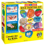 Creativity for Kids - Hide and Seek Rock Painting Kit by Faber-Castell