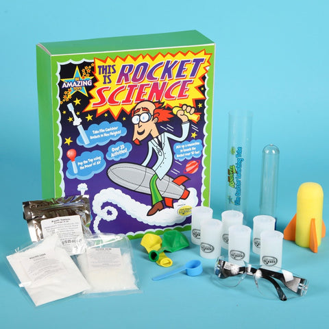 Be Amazing! This Is Rocket Science Experiment Kit