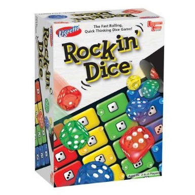 Ligretto Rockin' Dice by University Games
