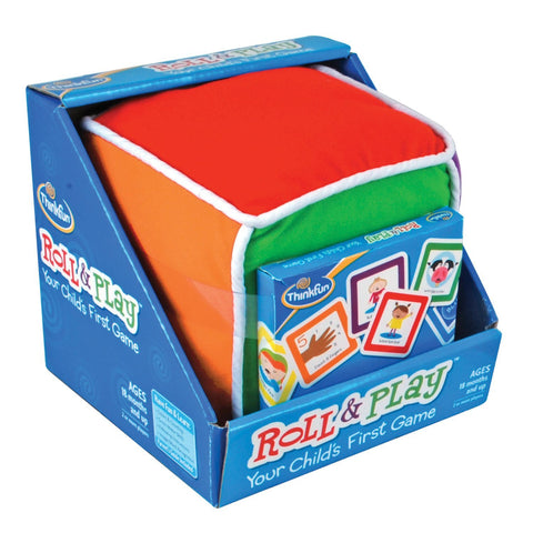 Roll And Play - Child's First Game -  ThinkFun Early Childhood Toy
