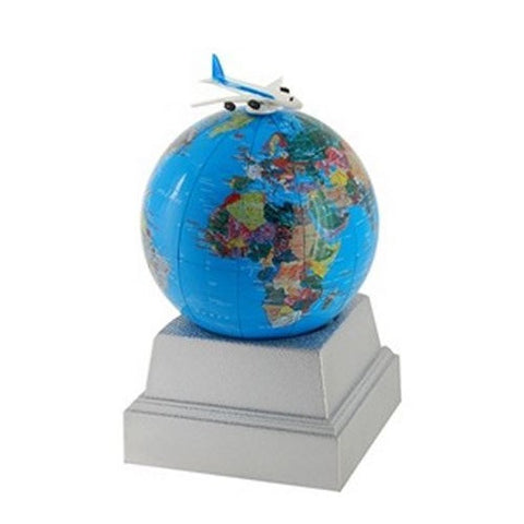 Rolling Earth Political Globe Bank/Motion Puzzle Toy