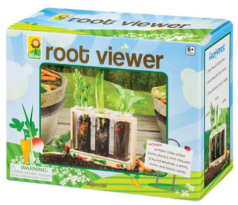 Root Viewer Garden with Rack and Seeds