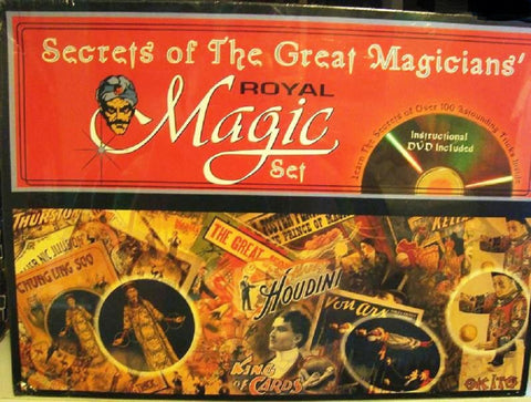 Secrets of the Great Magicians Set - Royal Magic Kit