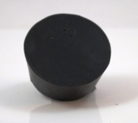 Rubber Stoppers: Solid: Per Pound: Size 10 (~7 Per LB.)