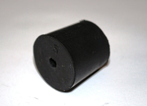 Rubber Stoppers: One-Hole: Per Pound: Size 5: (~24 Per LB.)