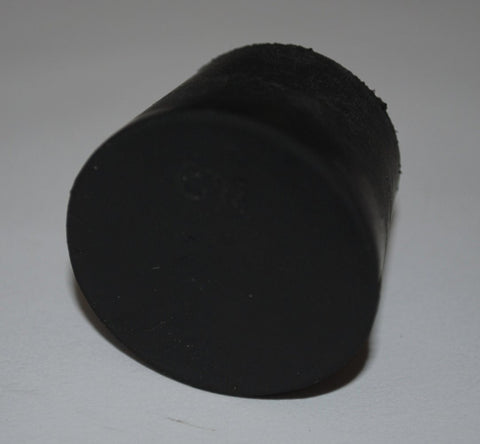 Rubber Stoppers: Solid: Per Pound: Size 6.5 (~16 Per LB.)