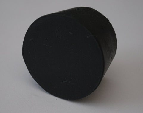 Rubber Stoppers: Solid: Per Pound: Size 8 (~10 Per LB.)