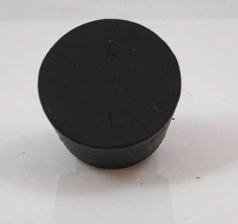 Rubber Stoppers: Solid: Per Pound: Size 9 (~9 Per LB.)