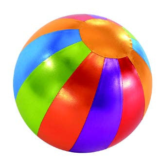 Y'all Ball 14 Inch Inflatable Multi-Colored Ball