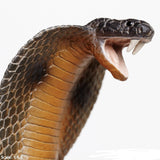 Cobra - Posable Coiling Lifelike Rubber Wildlife Replica 34 Inches