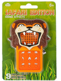 Safari Edition Sound Effects Machine w/ 9 Animal Sound Bites