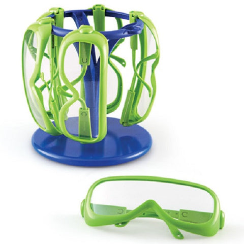 Safety Glasses for Children - Set of 6 with Stand