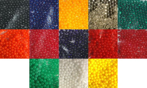 Sample Pack of Rainbow Water Beads - 10g Each of 13 Different Colors