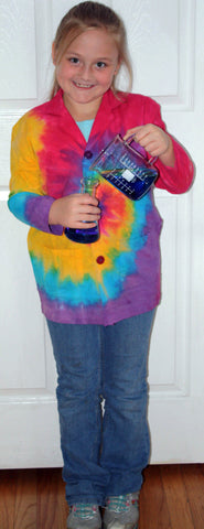 Children's Lab Coat - Tie Dyed Lightweight Unisex