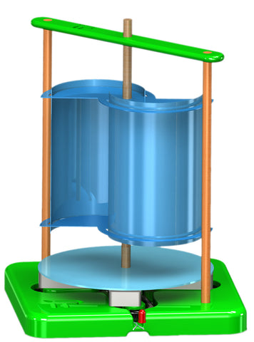 Savonius Vertical Axis Wind Turbine