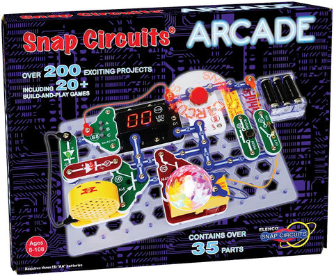Snap Circuits Arcade - Build and Play 20+ Games