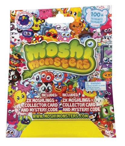 Moshi Monsters Moshlings Foil Pack - 2 Pack Collectables