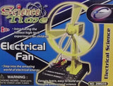 Science Time Electrical Fan Kit by Toysmith