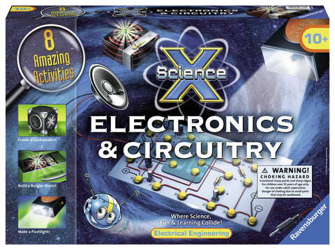 Science X - Electronics & Circuitry Kit - 8 Activities
