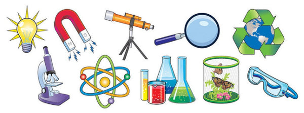 Classroom Decor Kit ~ Science magnet set magnetic scientific symbols
