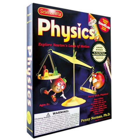 Science Wiz: Physics Experiment Kit with 24 Activities